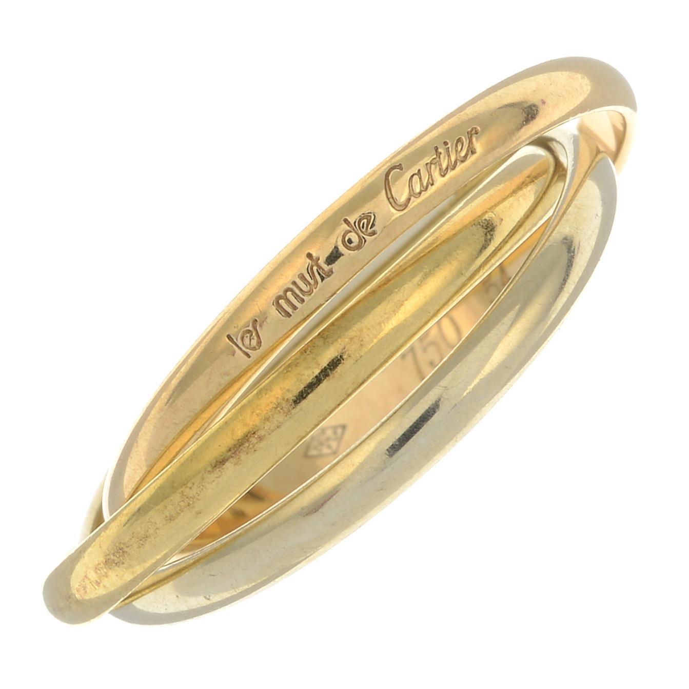 A 'Trinity les must de Cartier' ring, by Cartier.Signed Cartier.