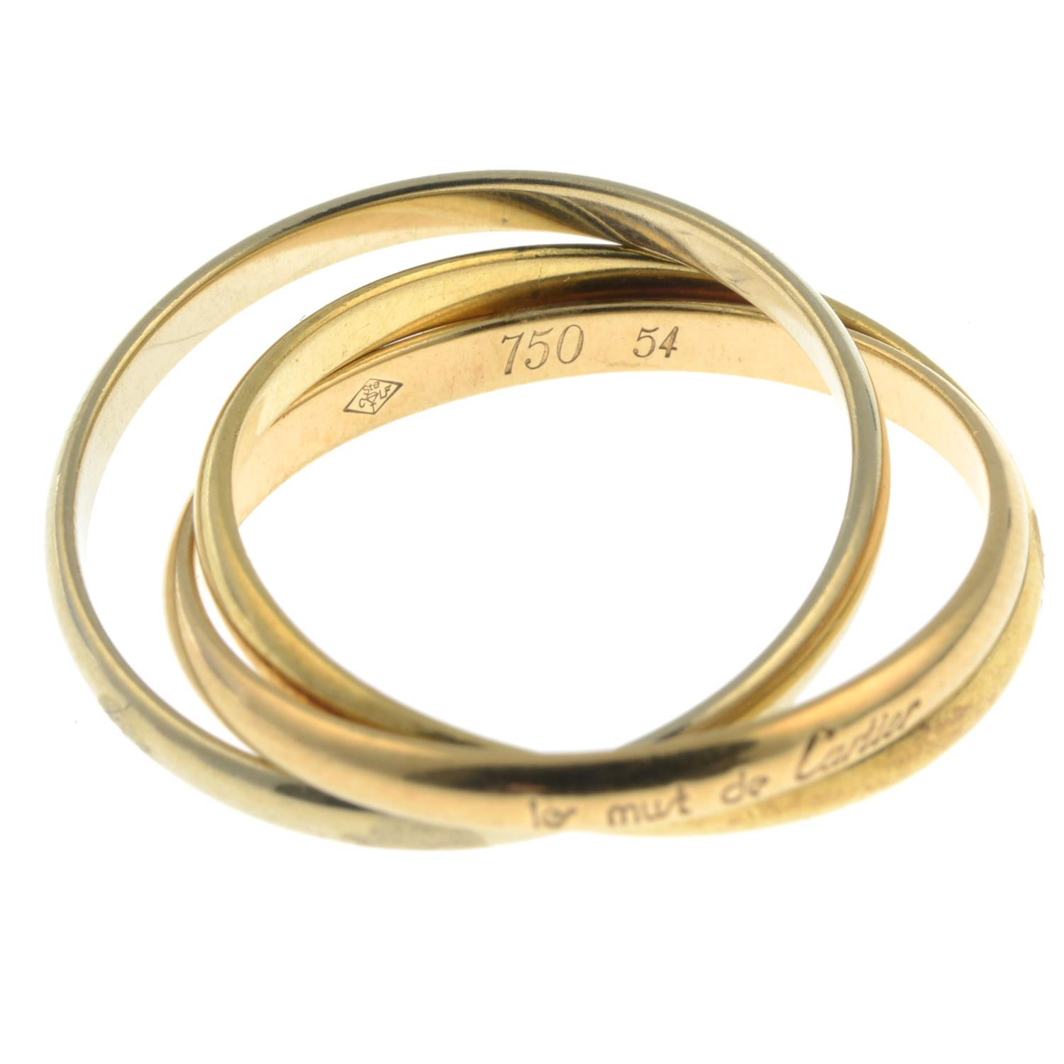 A 'Trinity les must de Cartier' ring, by Cartier.Signed Cartier. - Image 3 of 3