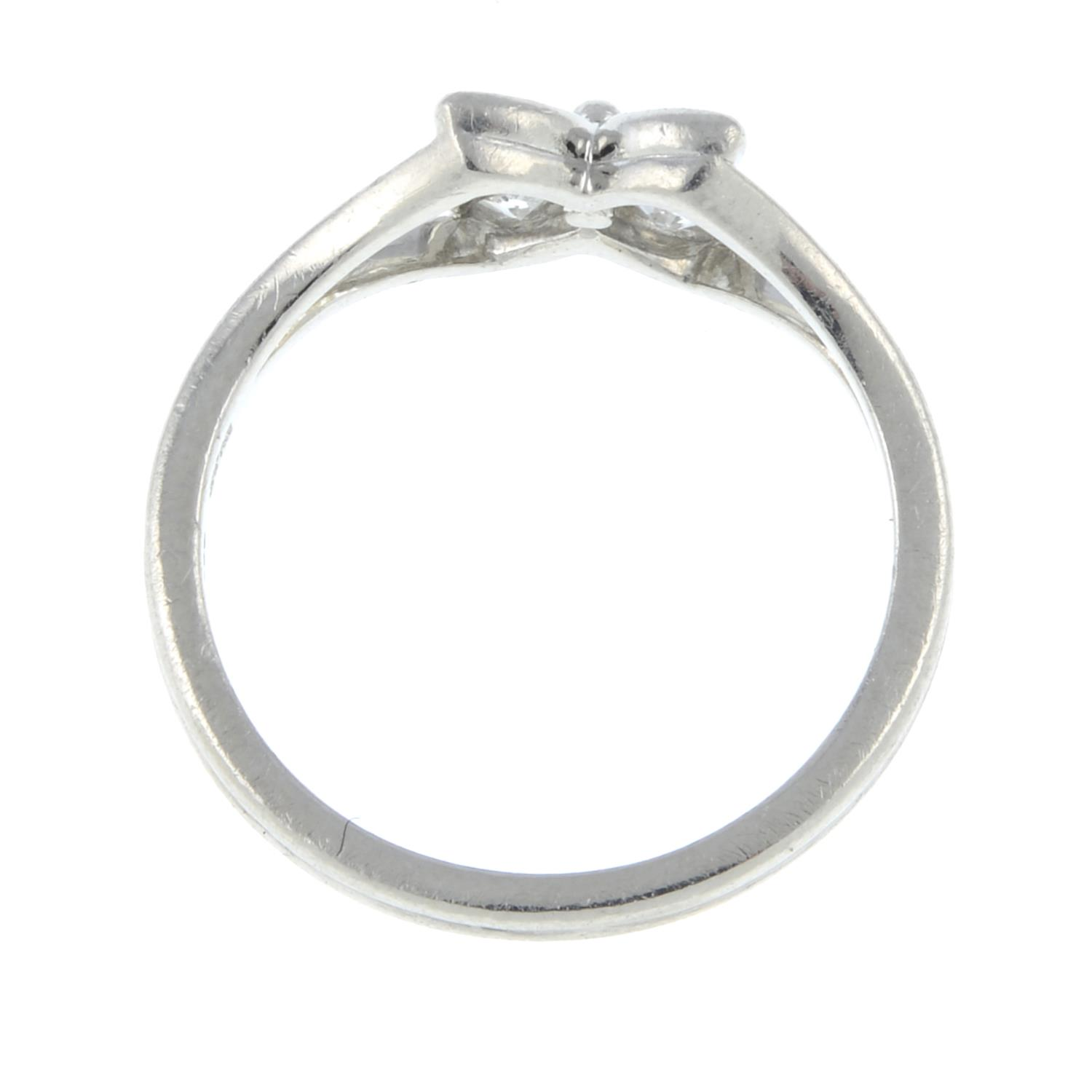 A diamond floral 'Victoria' ring, - Image 6 of 6