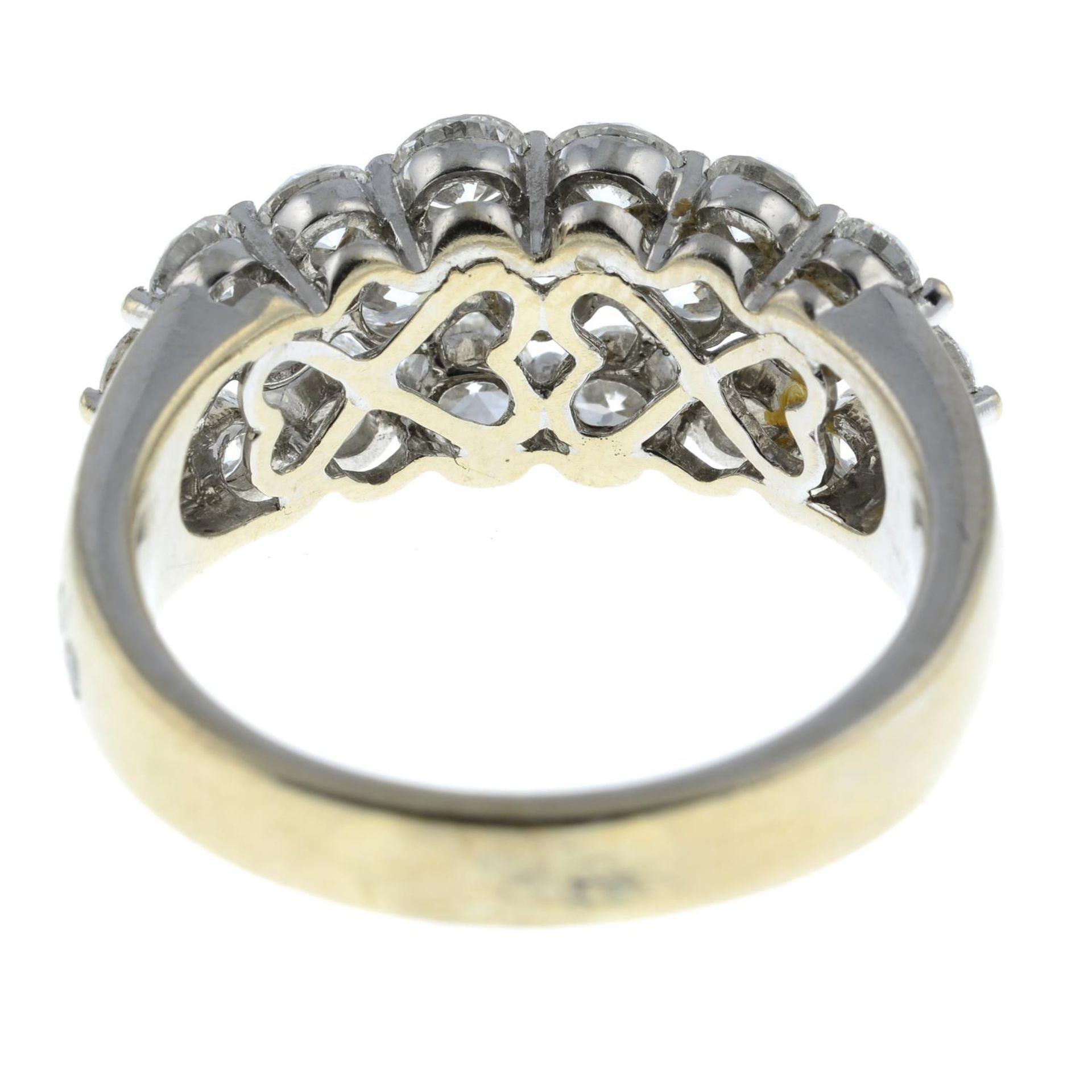 A brilliant-cut diamond dress ring. - Image 5 of 6