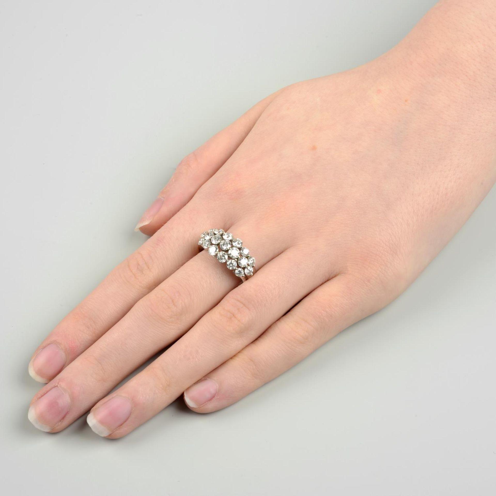 A brilliant-cut diamond dress ring. - Image 3 of 6