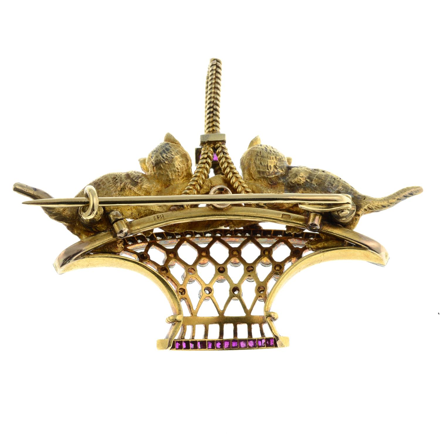 An early 20th century 18ct gold and platinum, - Image 4 of 4