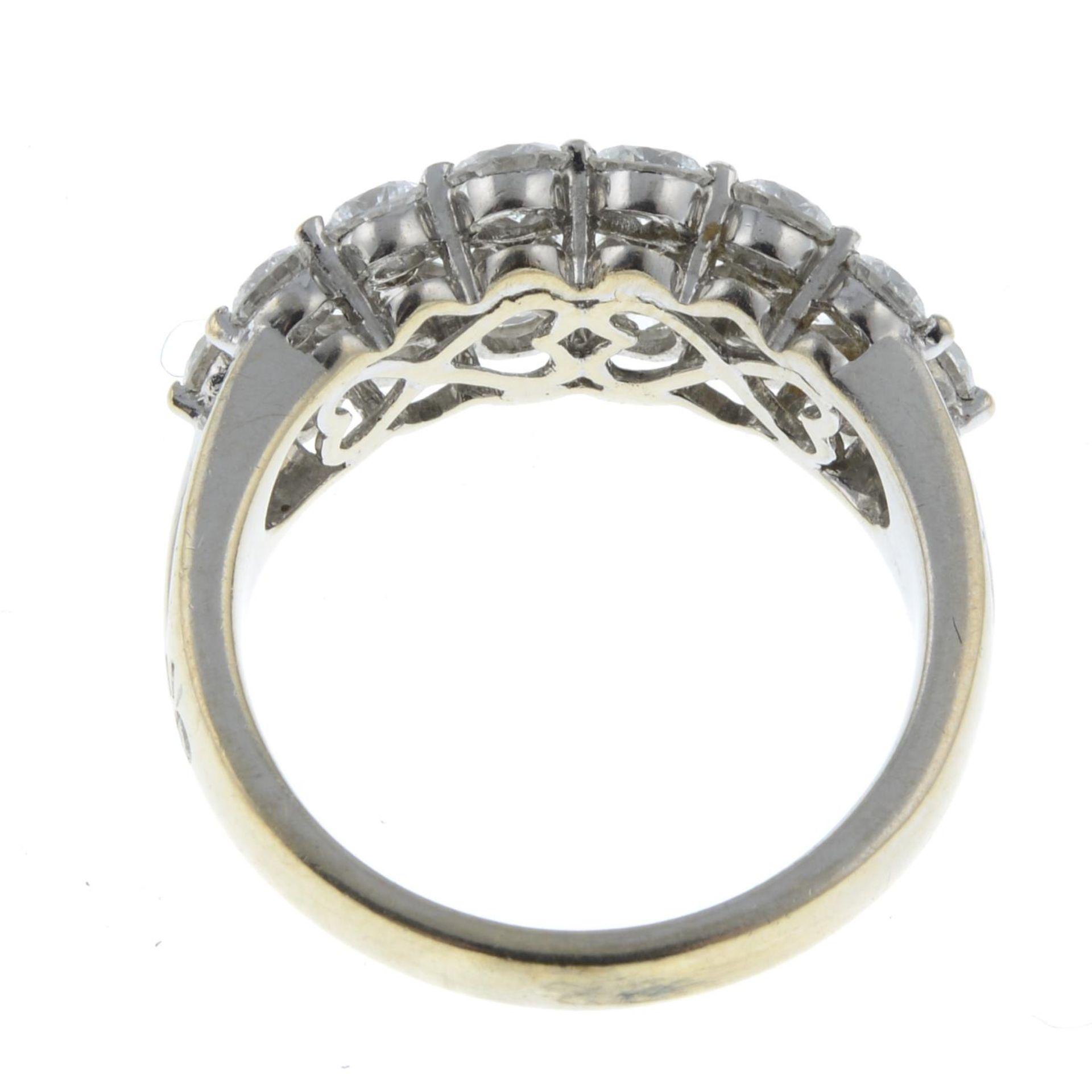 A brilliant-cut diamond dress ring. - Image 6 of 6