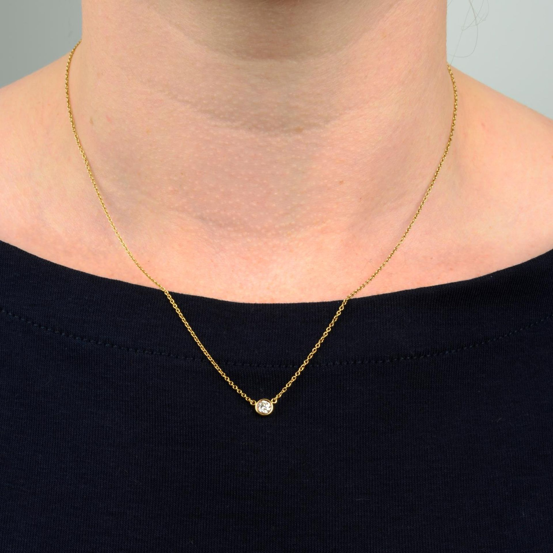 A 'Diamonds by the Yard' necklace, - Image 3 of 6