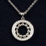 An 18ct gold diamond 'Circus' necklace,