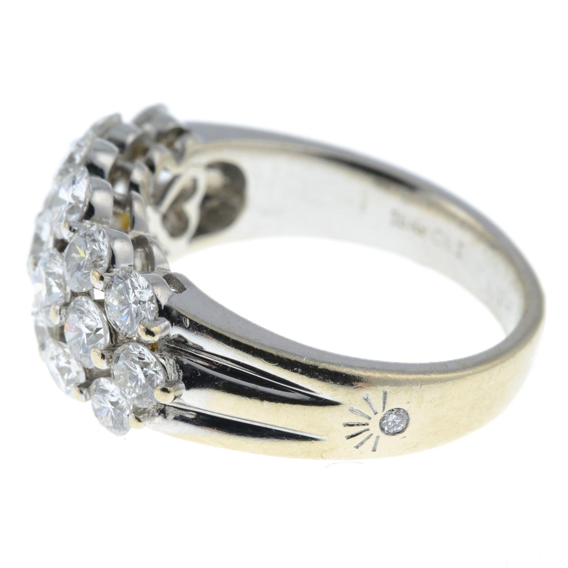 A brilliant-cut diamond dress ring. - Image 4 of 6
