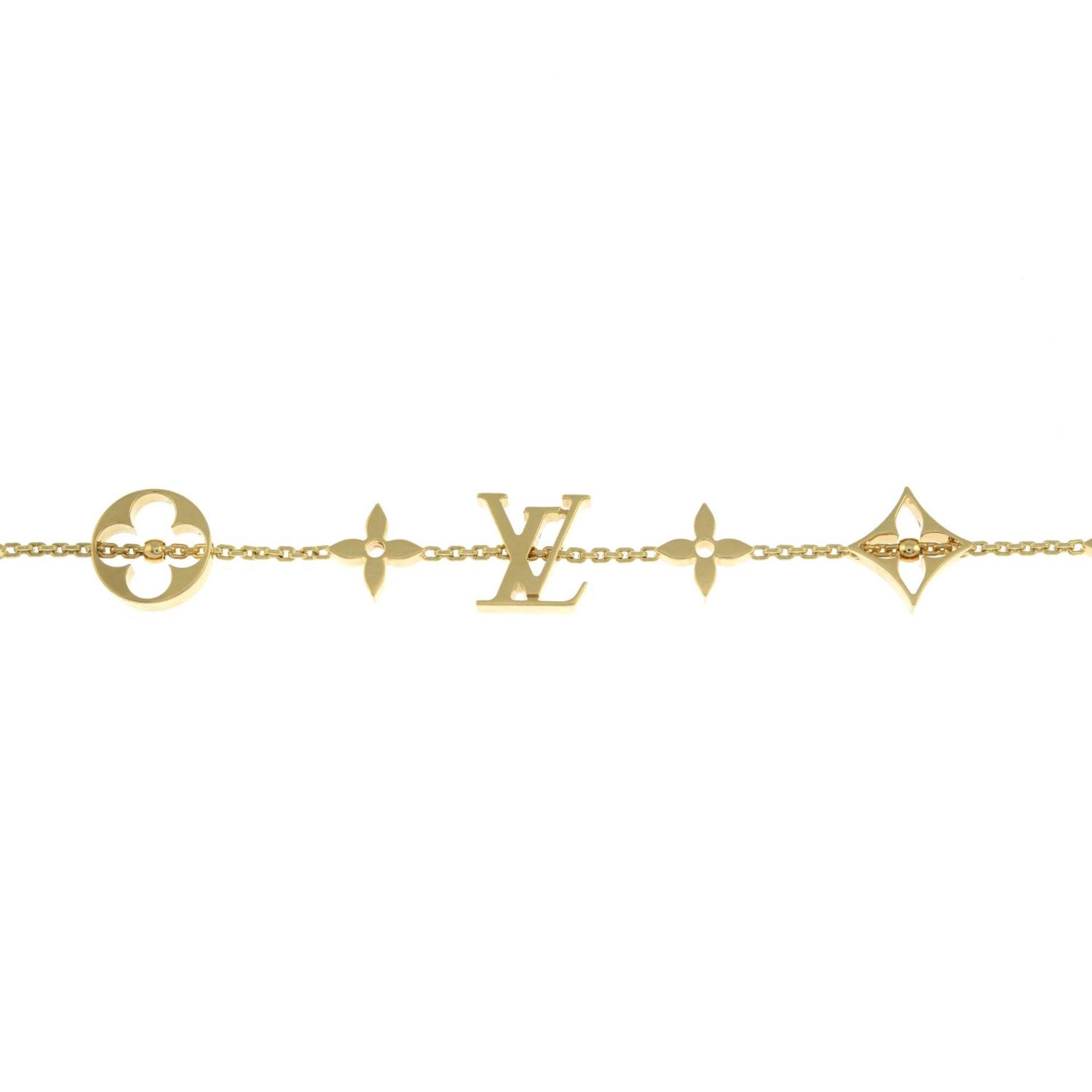 An 'Idylee Blossom Monogram' bracelet, - Image 2 of 4