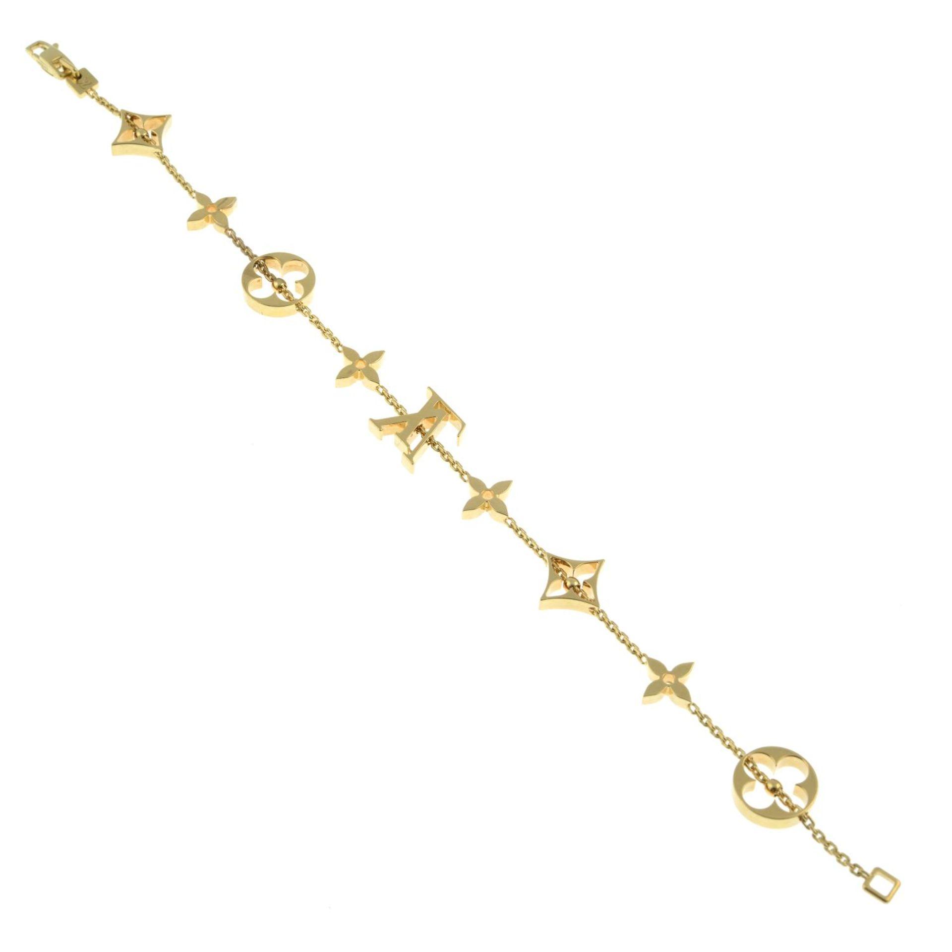 An 'Idylee Blossom Monogram' bracelet, - Image 4 of 4