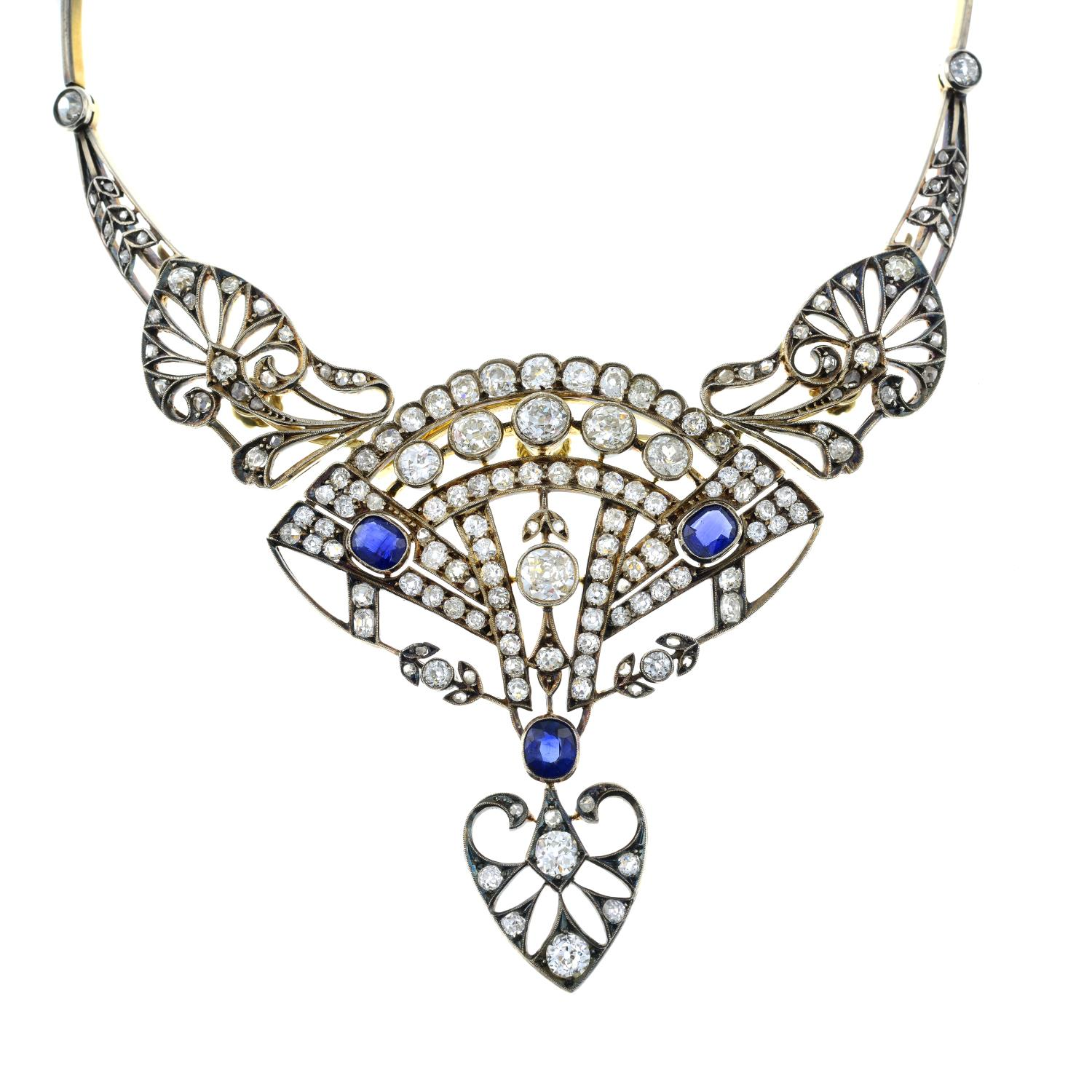 A late 19th century silver and 18ct gold, - Image 2 of 6