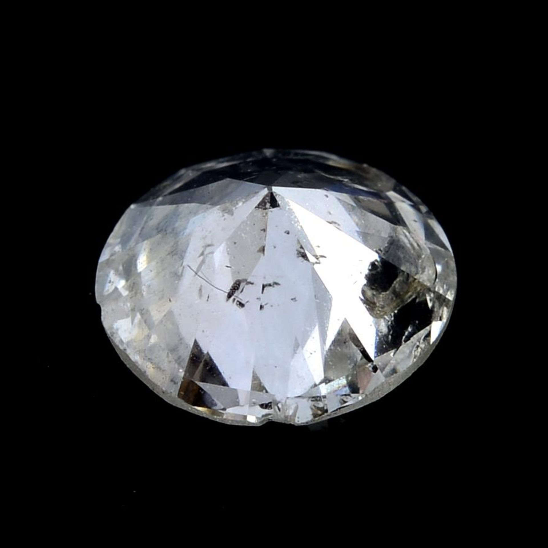 A brilliant cut diamond weighing 1.02cts. - Image 2 of 2