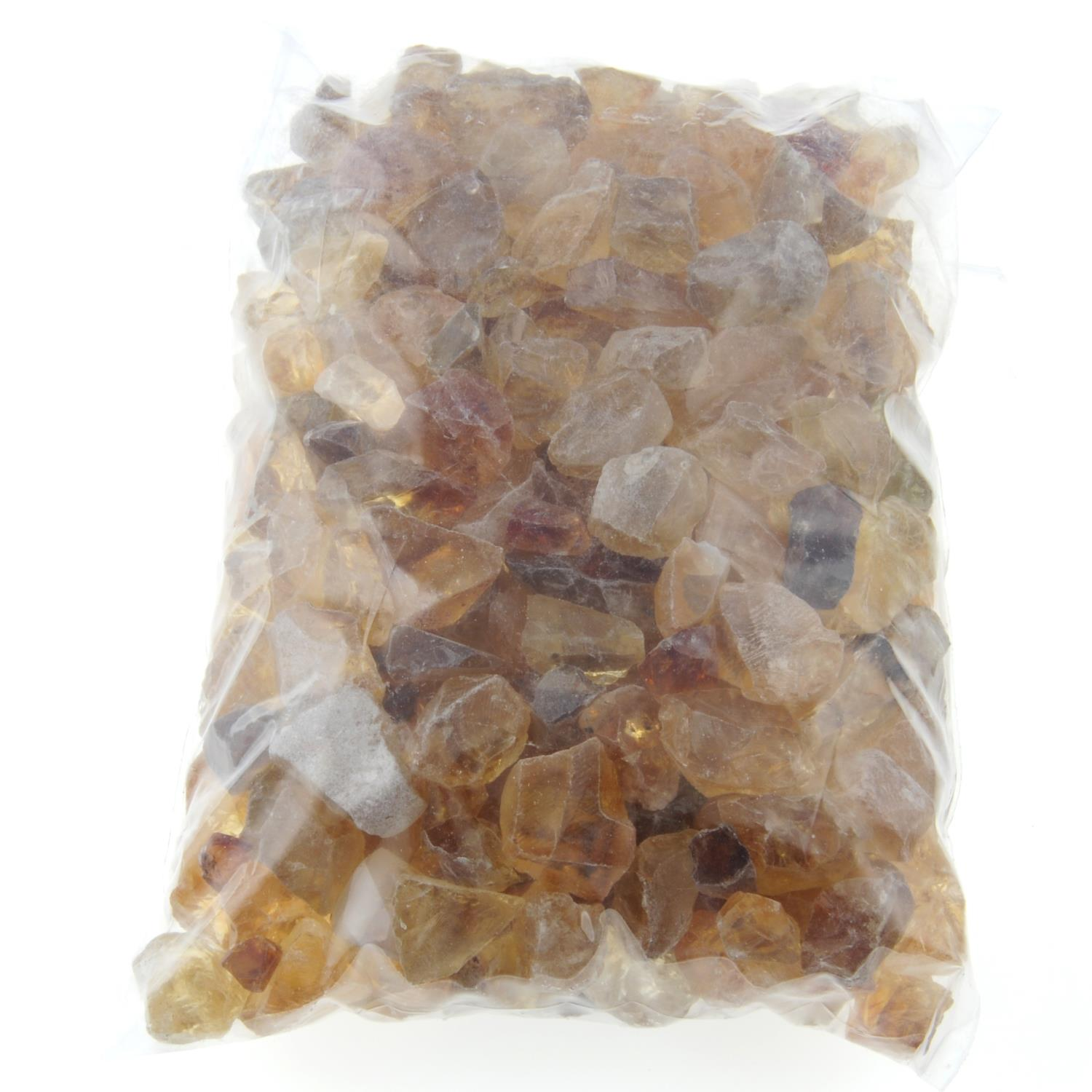 A selection of rough citrine. - Image 2 of 2
