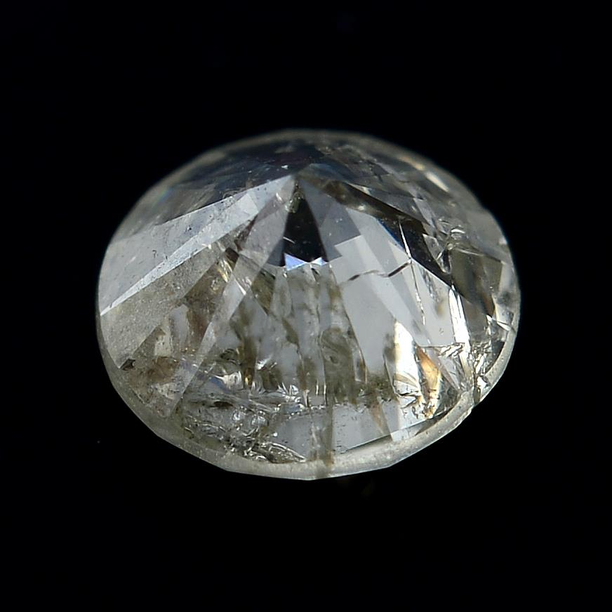 A brilliant cut diamond weighing 0.28ct. - Image 2 of 2