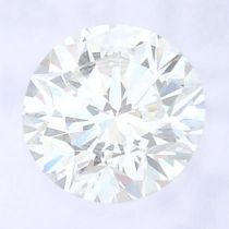 A brilliant cut diamond, weighing 0.26ct, measuring 4.04 by 4.10 by 2.53mms.