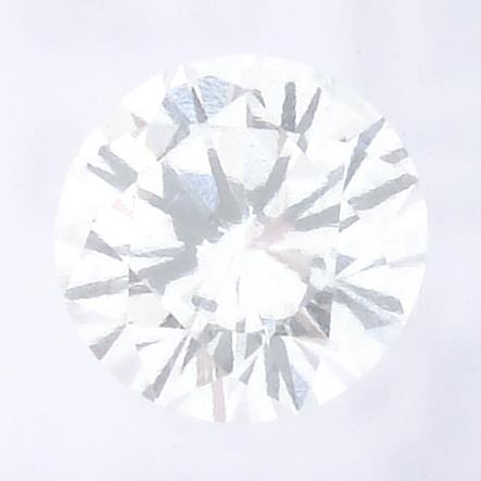 A brilliant cut diamond, weighing 0.26ct, measuring 4.13 by 4.15 by 2.48mms.
