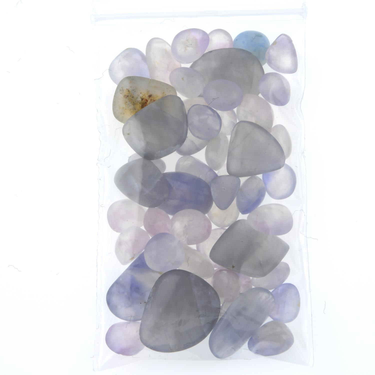 A selection of tumbled hackmanite, weighing 102cts. - Image 2 of 2