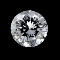 A brilliant cut diamond weighing 0.23ct.