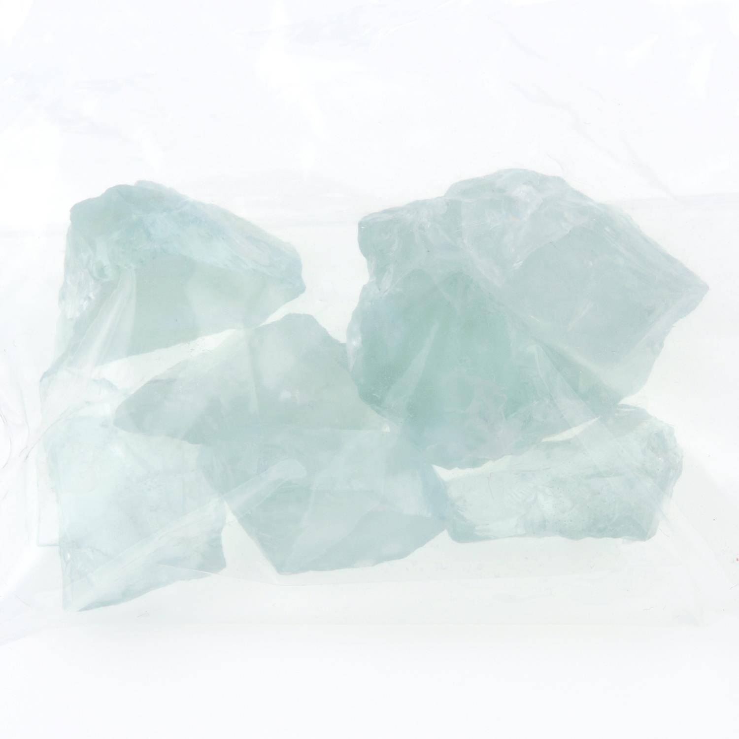A selection of rough aquamarines. - Image 2 of 2