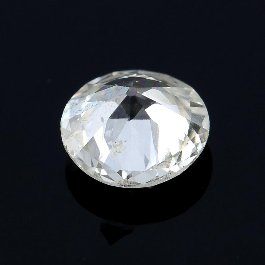 A brilliant cut diamond weighing 0.26ct. - Image 2 of 2