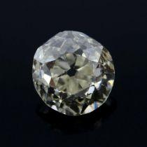 An old-cut diamond, weighing 0.26ct.