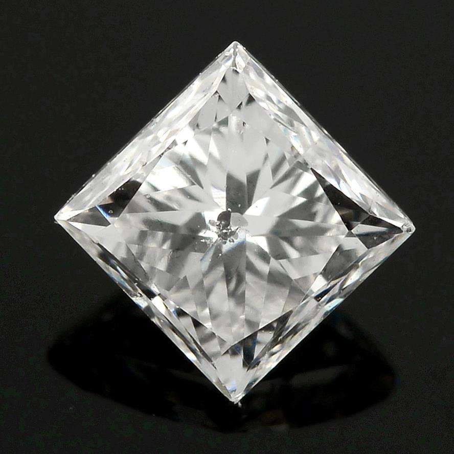 A square-shape diamond.