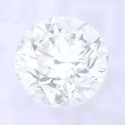 A brilliant cut diamond, weighing 0.30ct, measuring 4.15 by 4.18 by 2.74mms.