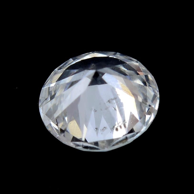 A brilliant cut diamond weighing 0.21ct. - Image 2 of 2
