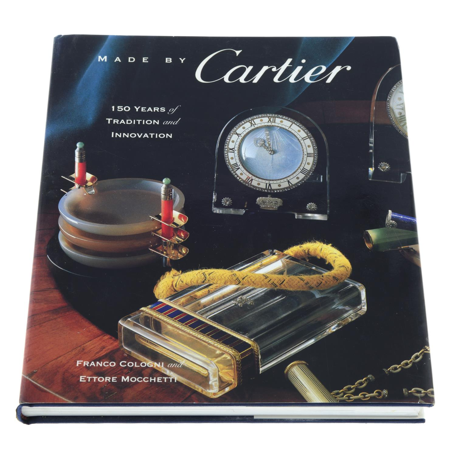 Book: 'Made by Cartier' by Cologni Mocchetti.