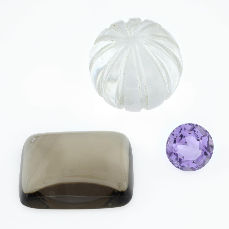 Six vari-shape quartzes. - Image 3 of 3