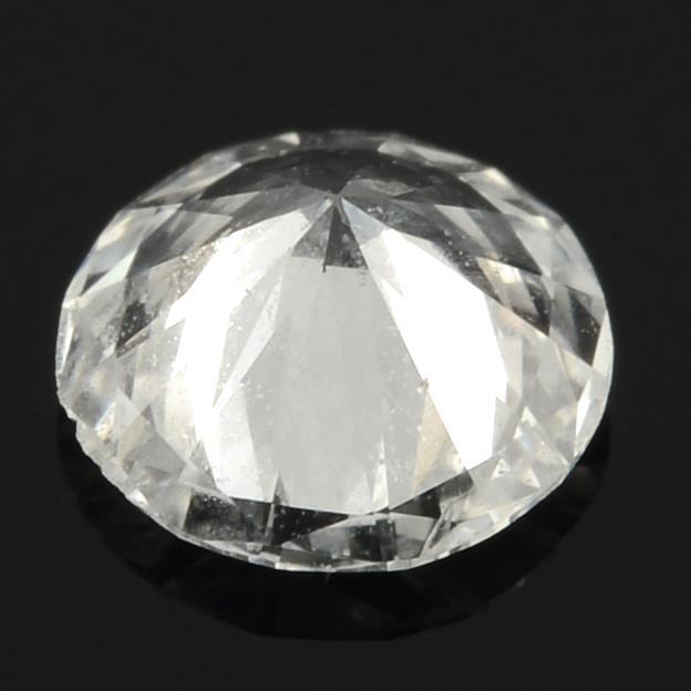 A brilliant cut diamond. - Image 2 of 2