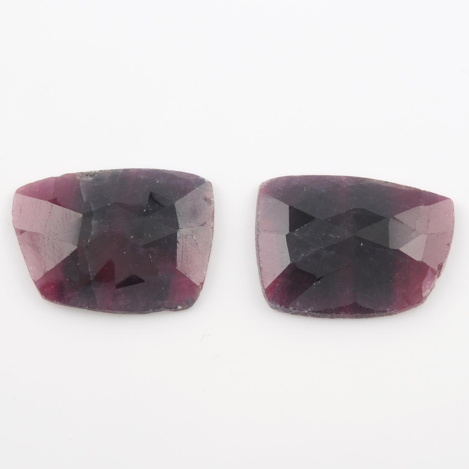 A selection of gemstones,