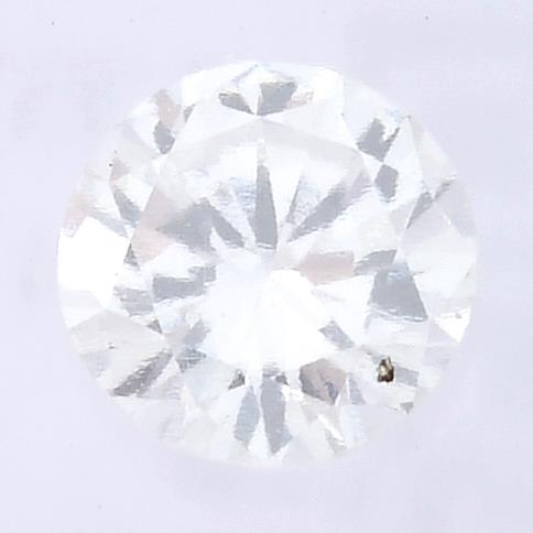 A brilliant cut diamond, weighing 0.35ct, measuring 4.64 by 4.71 by 2.68mms.