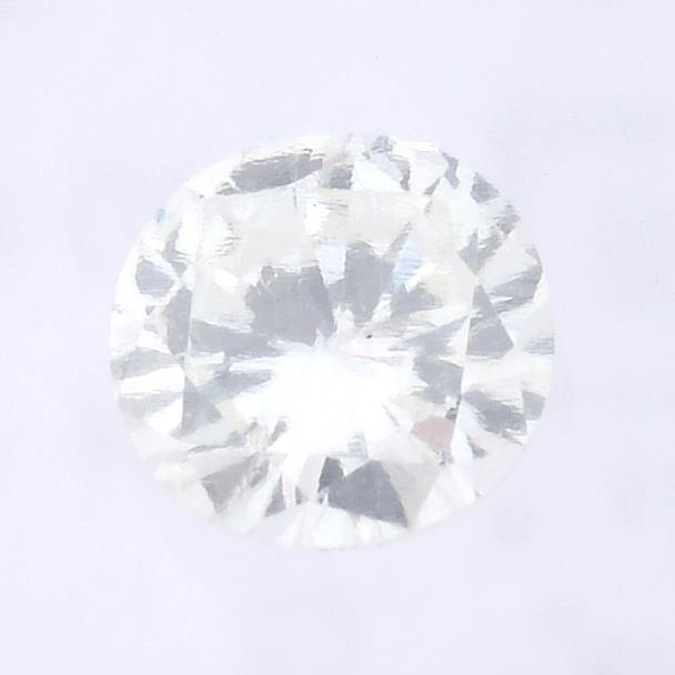 A brilliant cut diamond, weighing 0.20ct, measuring 3.84 by 3.94 by 2.16mms.
