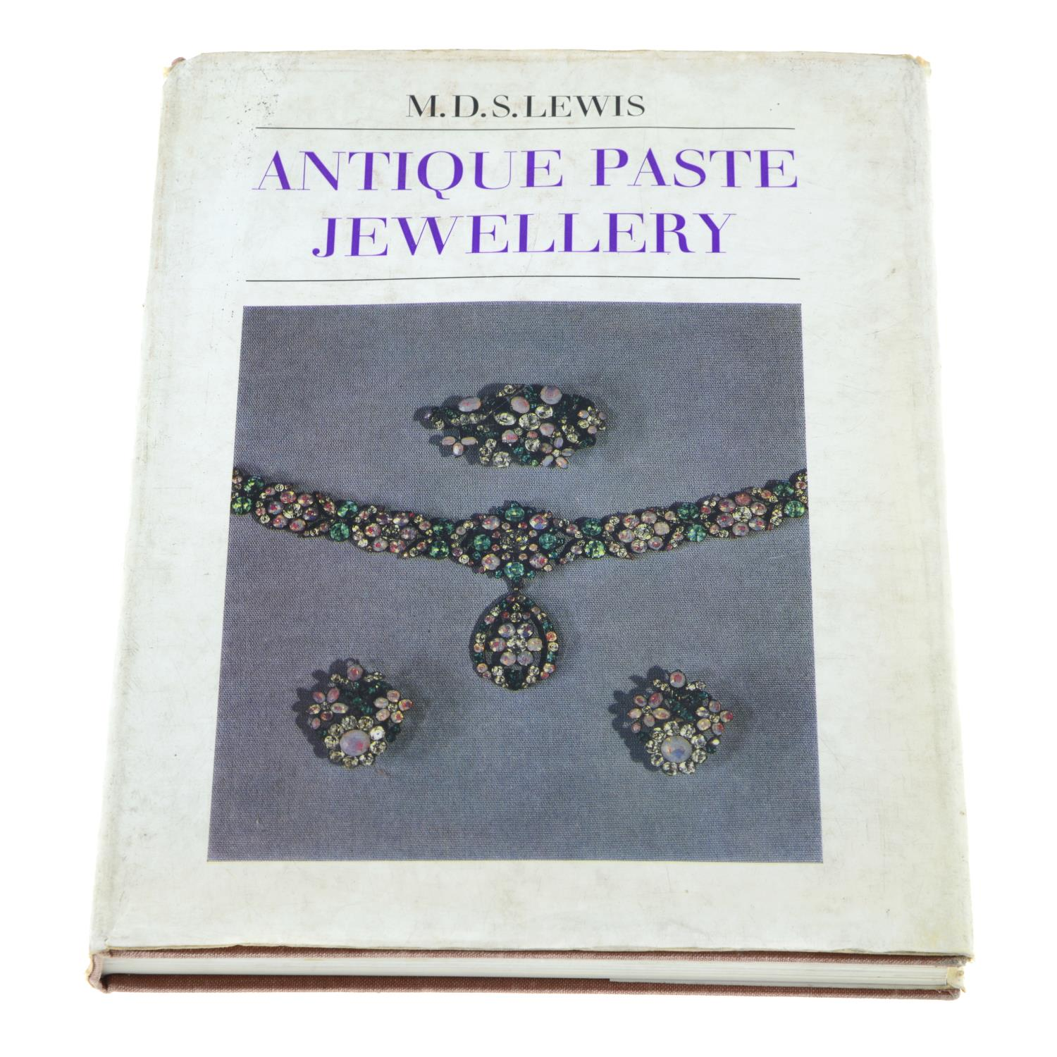 Book: 'Antique Paste Jewellery' by M.