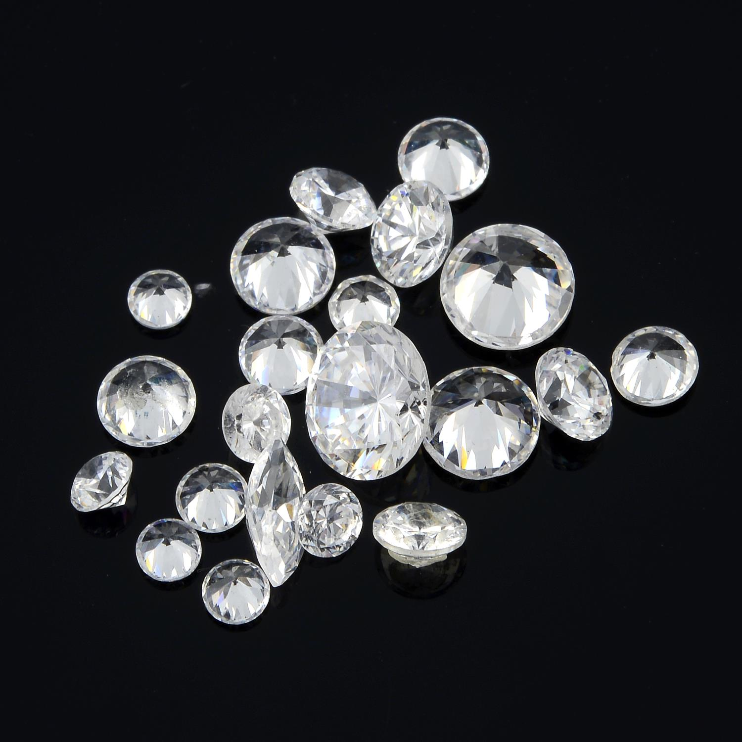 Selection of old cut diamonds, weighing 10.40cts. - Image 3 of 5