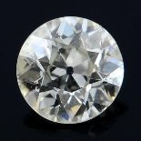 A brilliant cut diamond weighing 0.26ct.