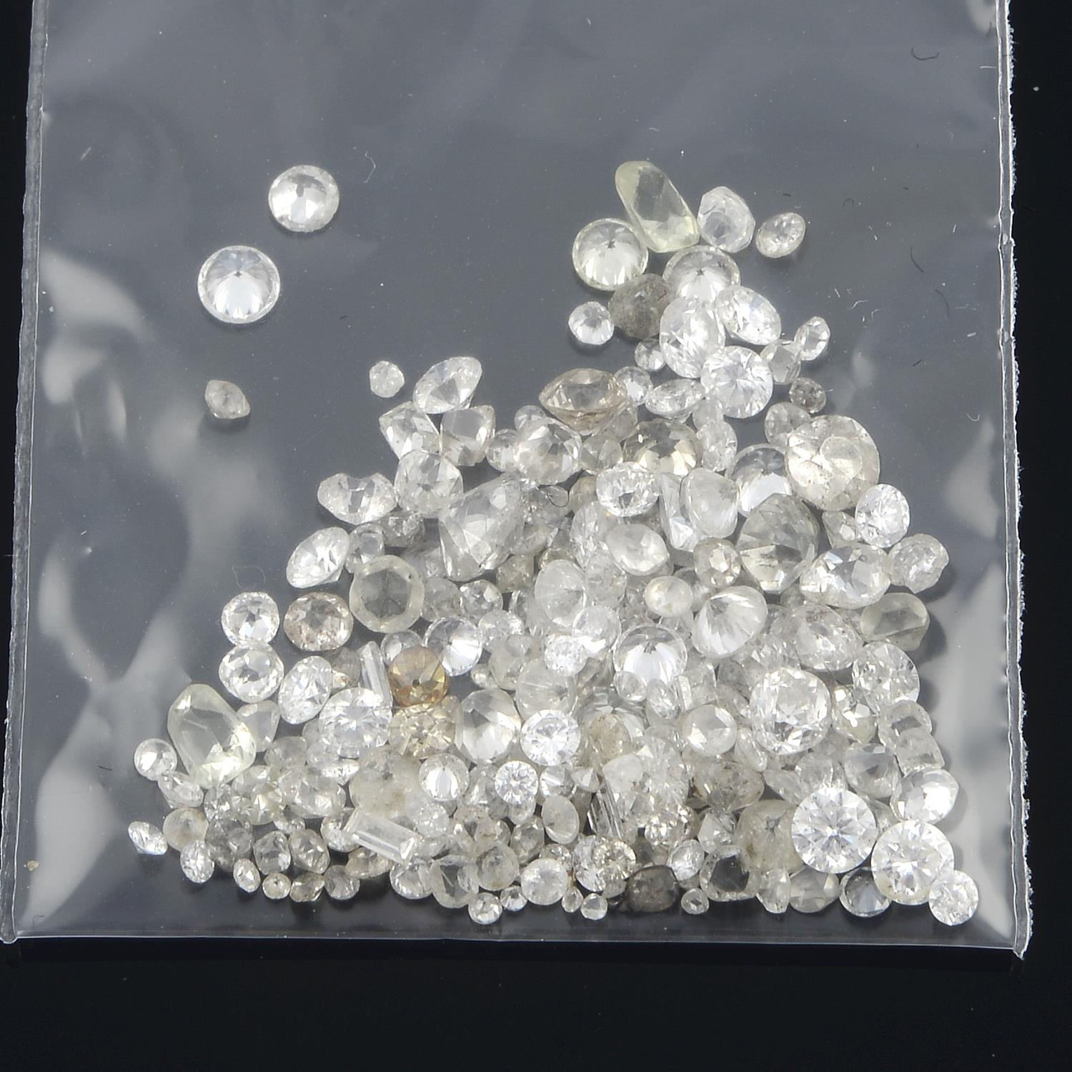 Selection of old cut diamonds, weighing 10.40cts. - Image 2 of 5