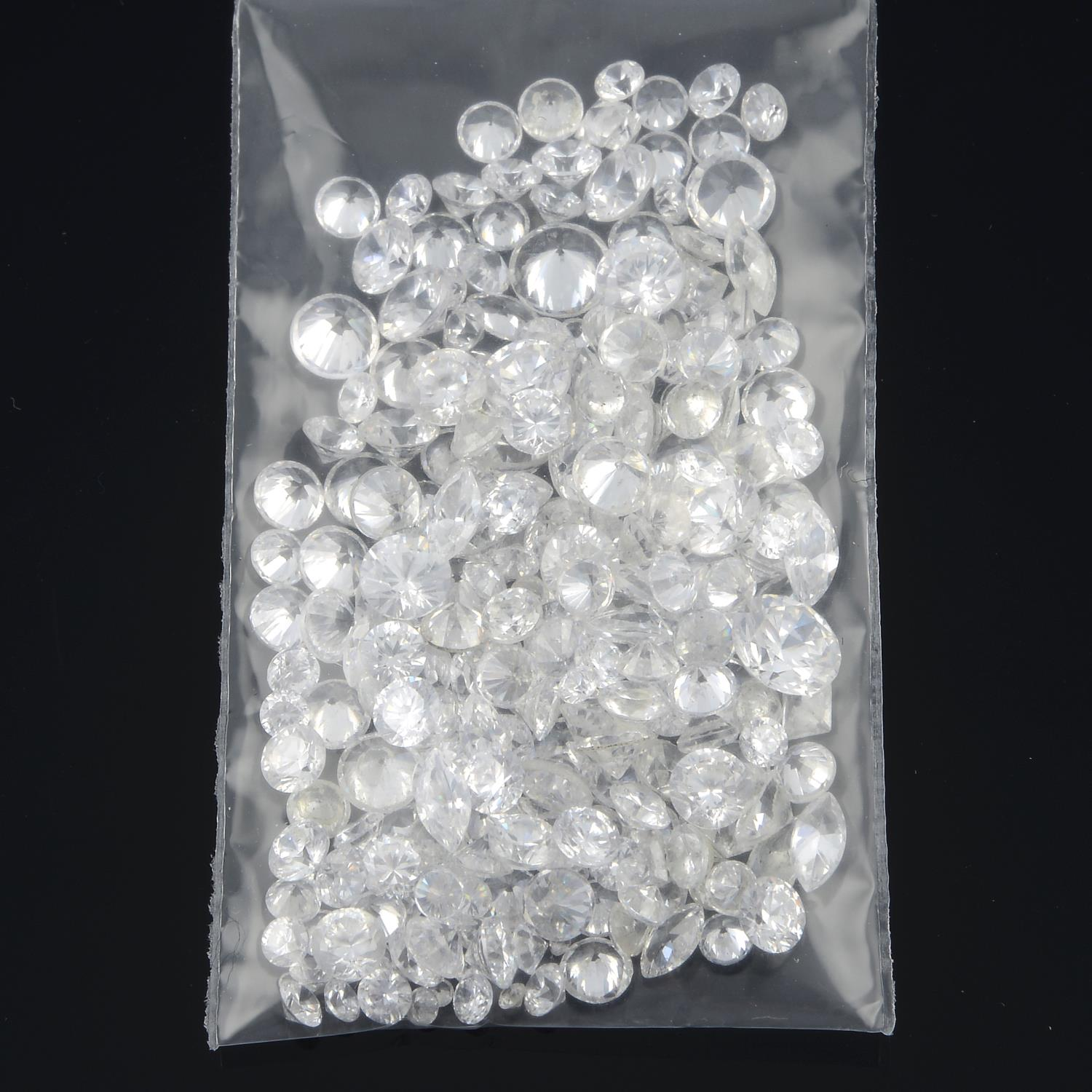 Selection of old cut diamonds, weighing 10.40cts. - Image 4 of 5