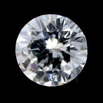 A brilliant cut diamond weighing 0.37ct.