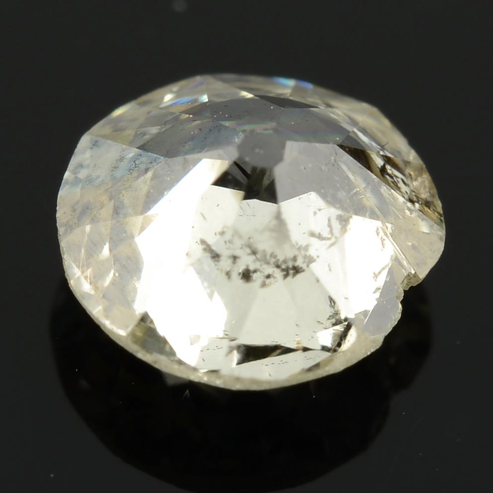 An old cut diamond, weighing 0.52ct. - Image 2 of 2