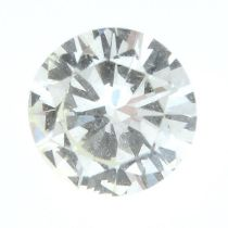 A brilliant-cut diamond,