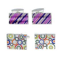 Twenty pairs of cufflinks, nine pairs, by P.