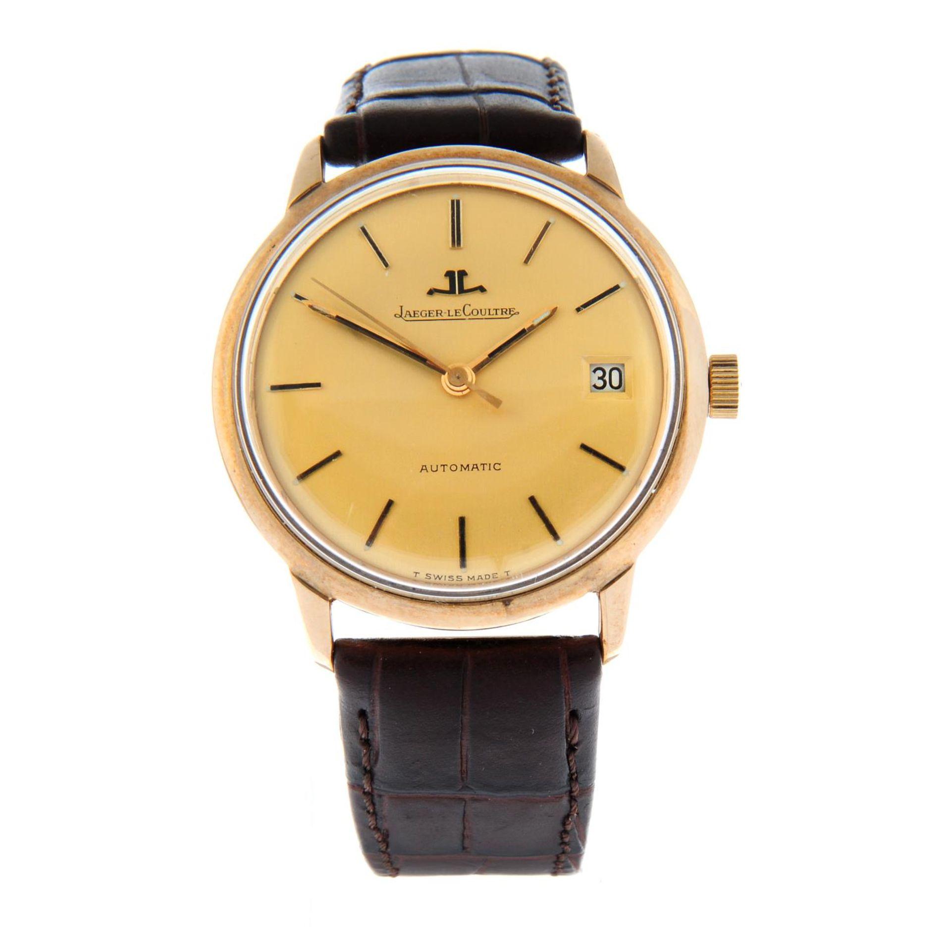 JAEGER-LECOULTRE - a wrist watch.