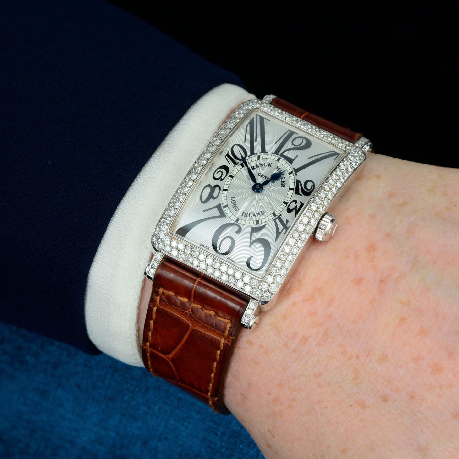 FRANCK MULLER - a long Island wrist watch. - Bild 3 aus 5