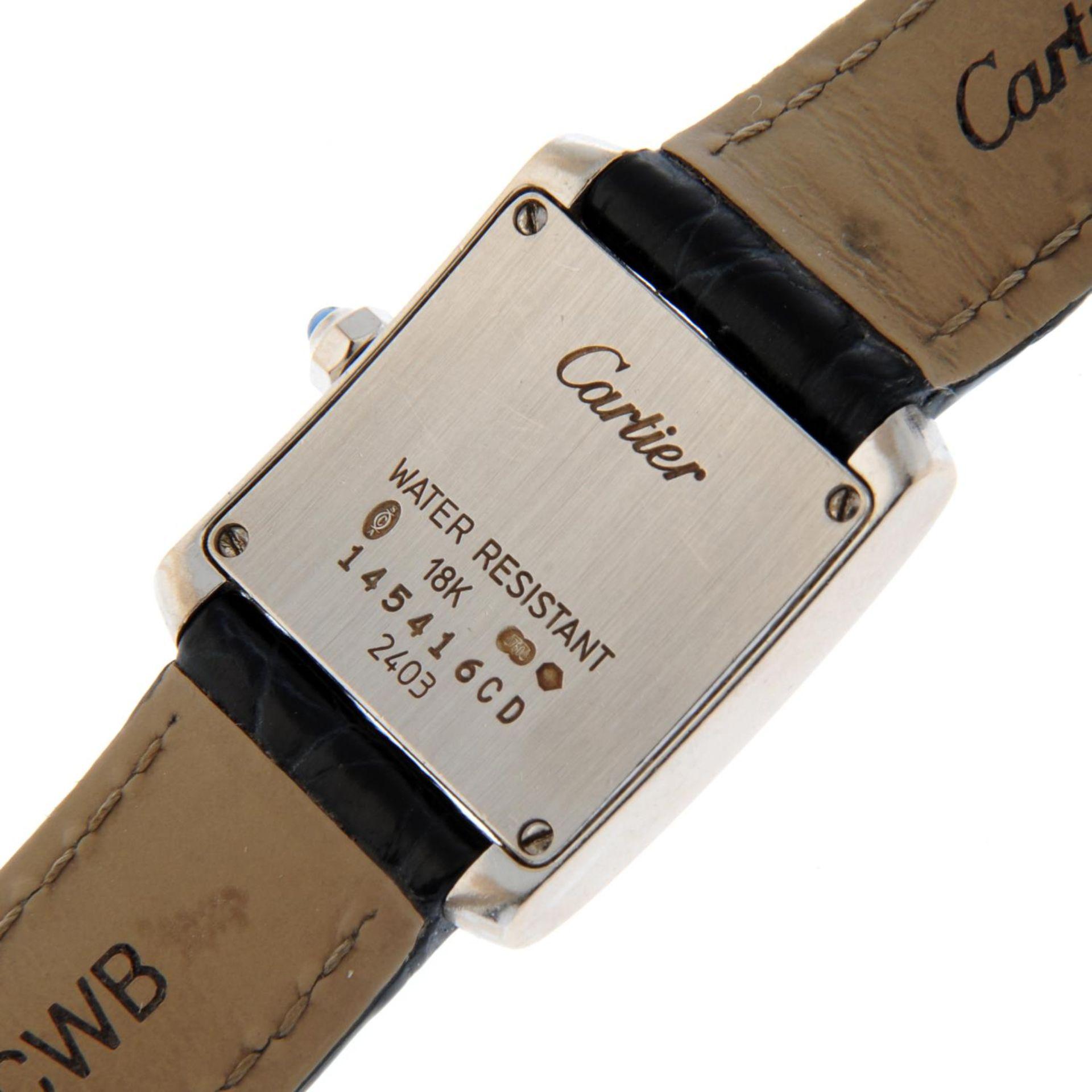 CARTIER - a Tank Francaise wrist watch. - Bild 5 aus 6