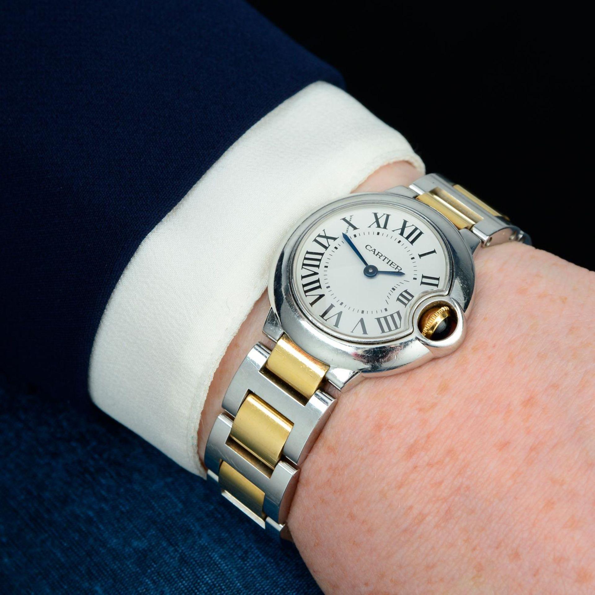 CARTIER - a Ballon Bleu bracelet watch. - Bild 3 aus 5