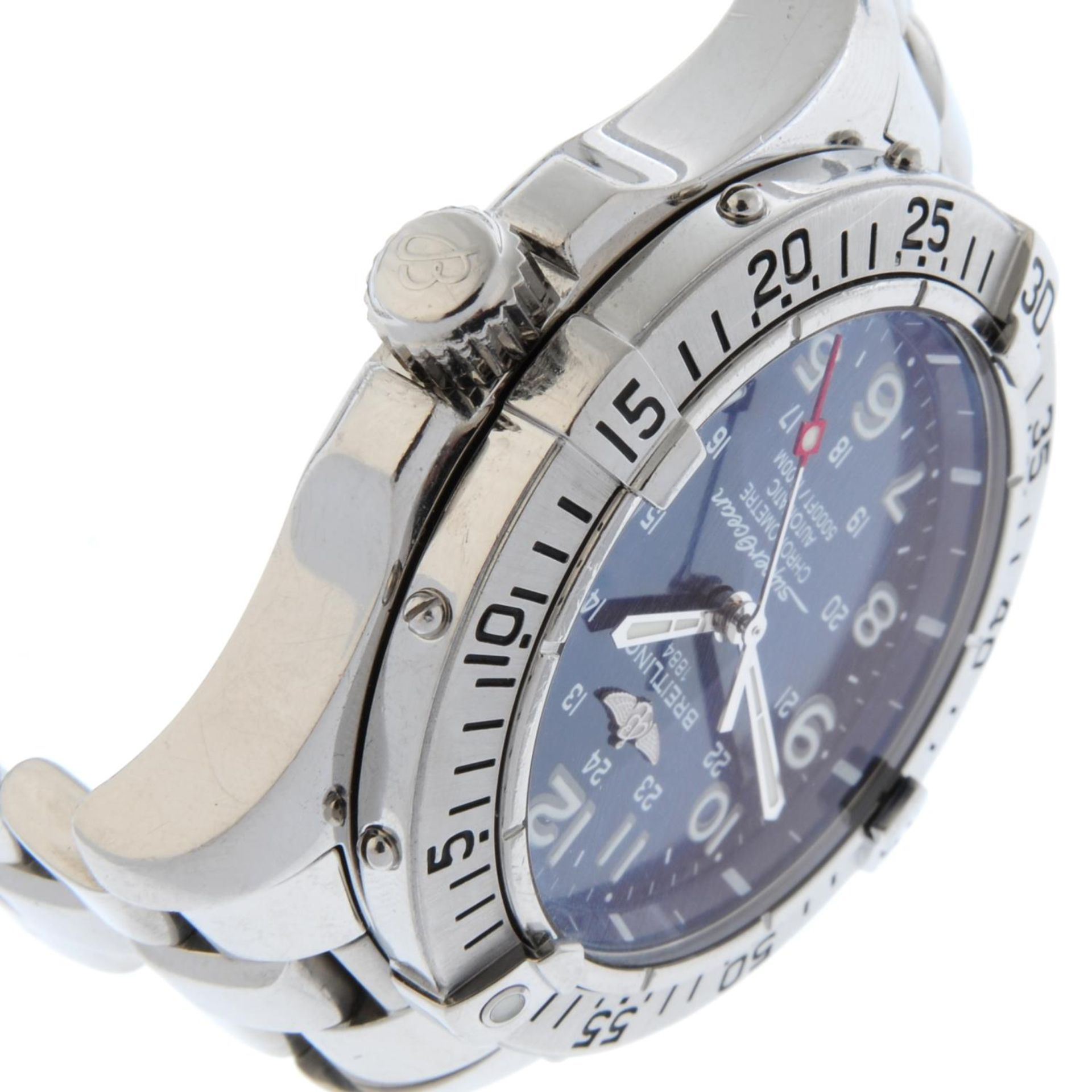 BREITLING - a SuperOcean bracelet watch. - Bild 4 aus 5
