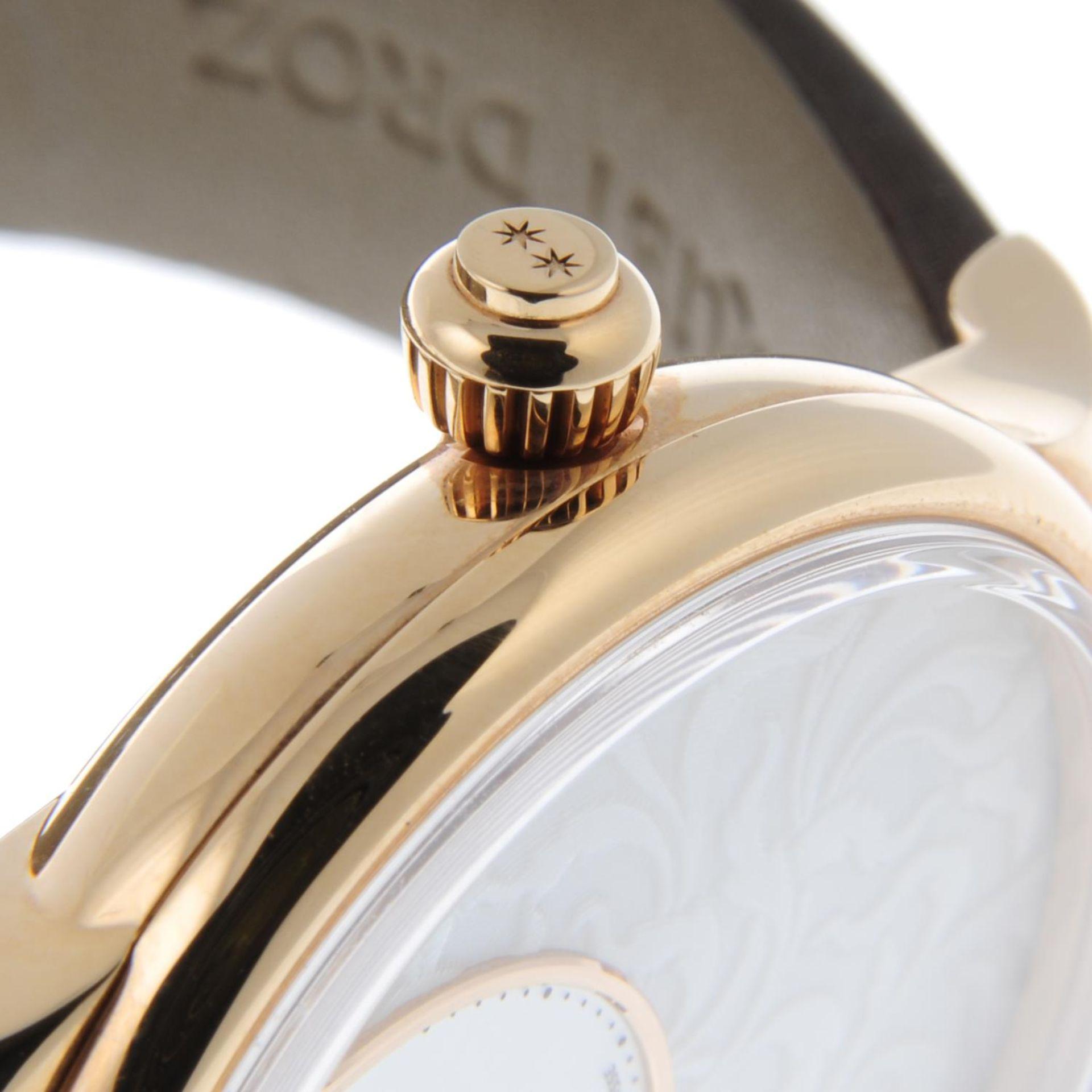 JAQUET DROZ - a limited edition Petite Heure Minute Art Deco wrist watch. - Bild 6 aus 6