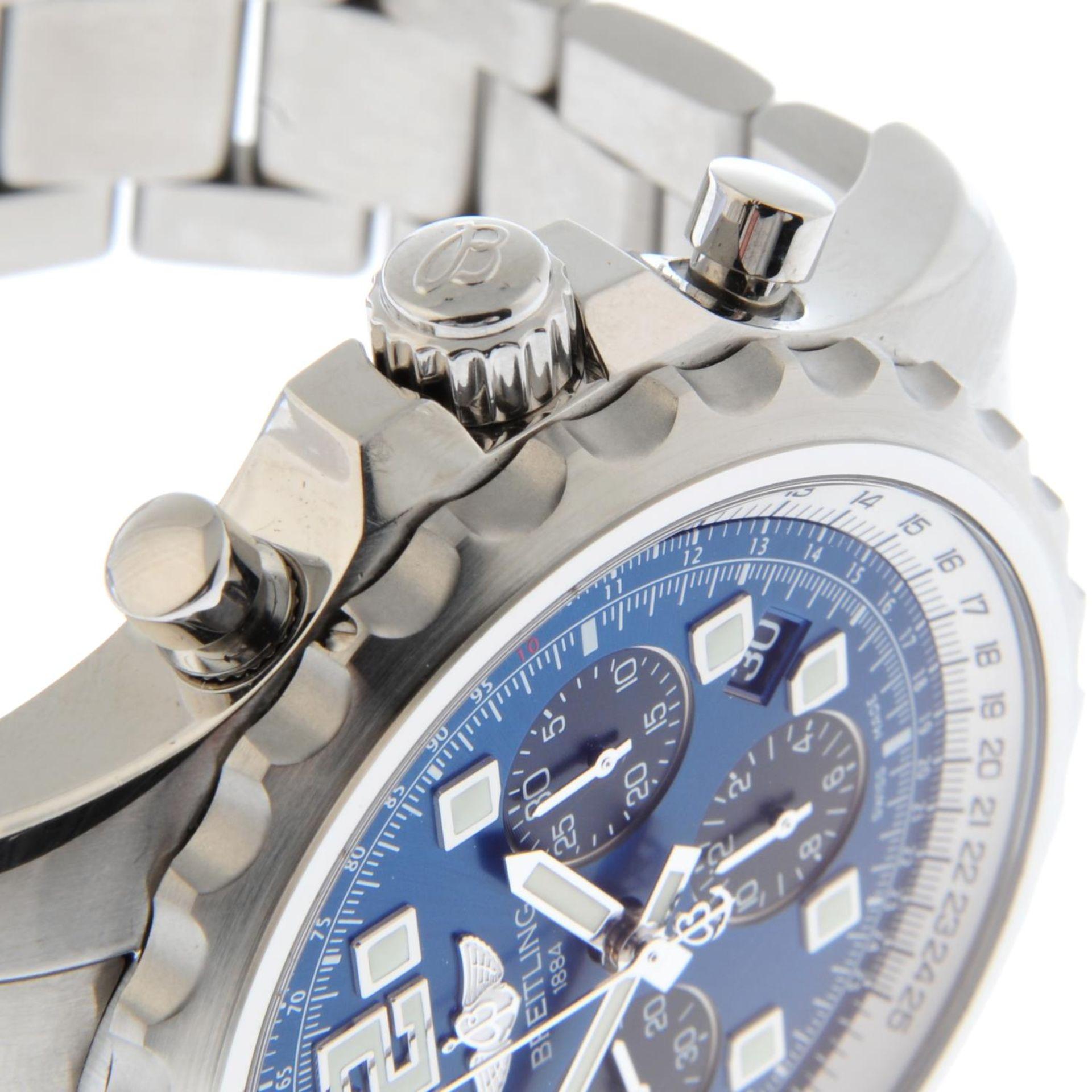 BREITLING - a Chronospace chronograph bracelet watch. - Bild 5 aus 5