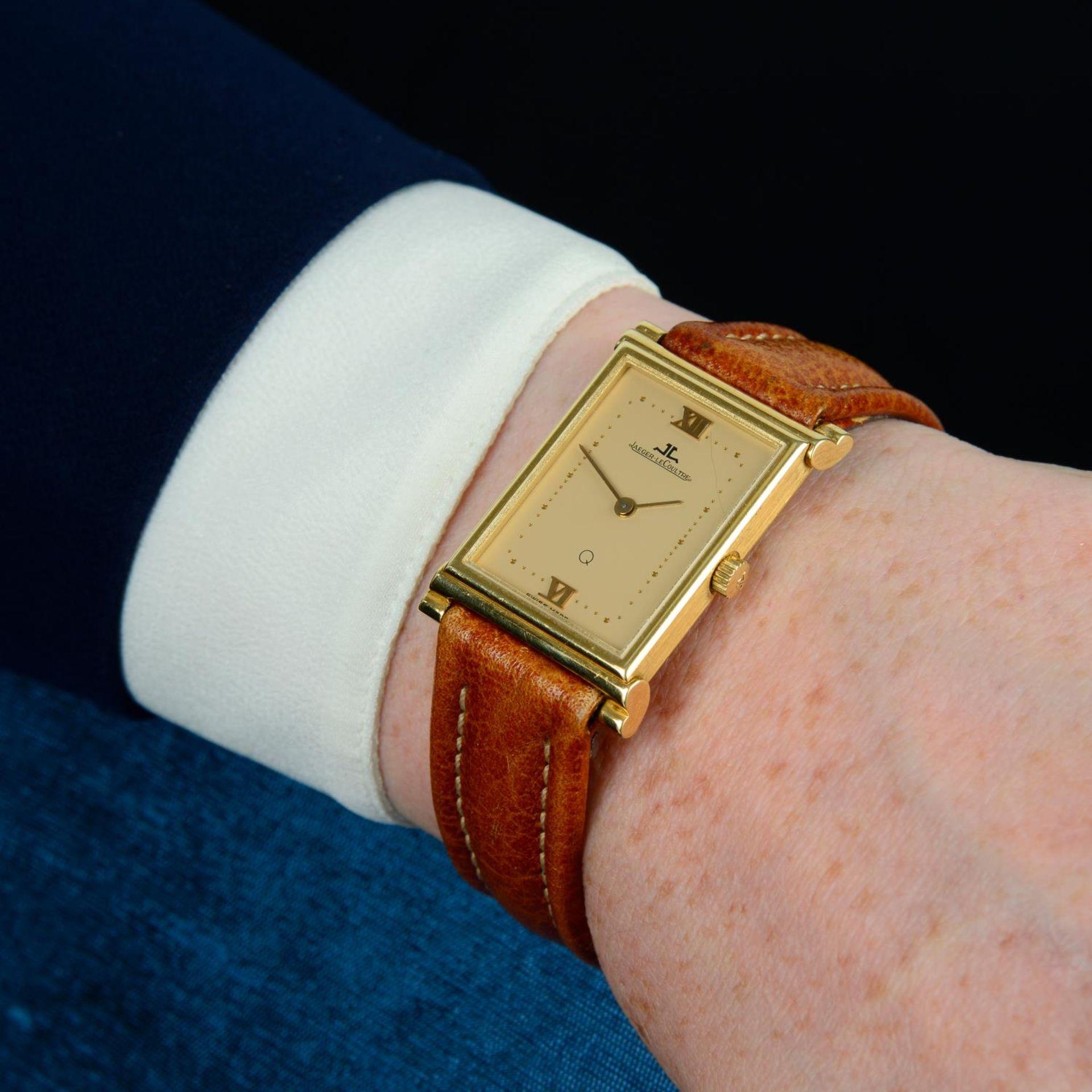 JAEGER-LECOULTRE - a wrist watch. - Bild 3 aus 5