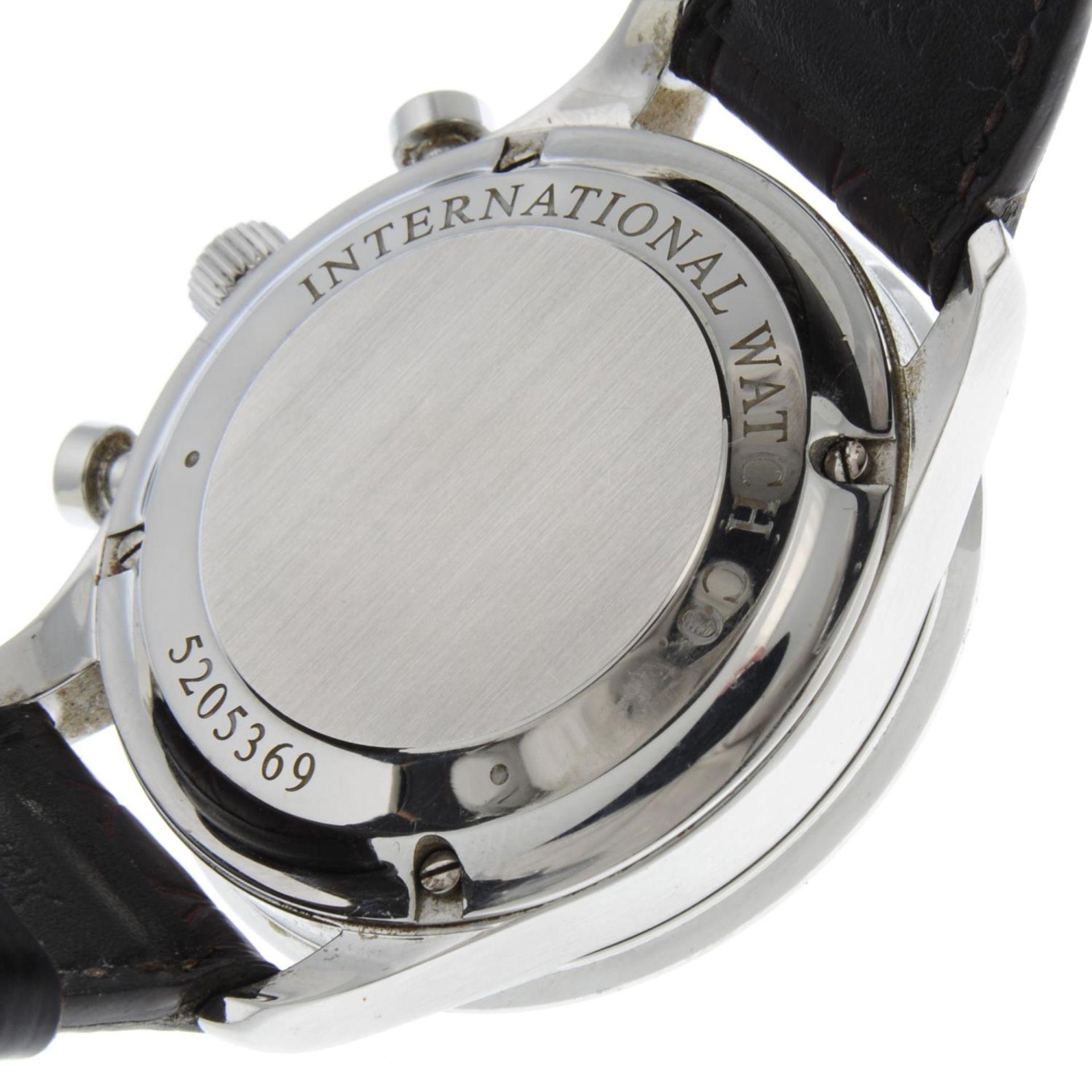 IWC - a Portuguese chronograph wrist watch. - Bild 6 aus 6